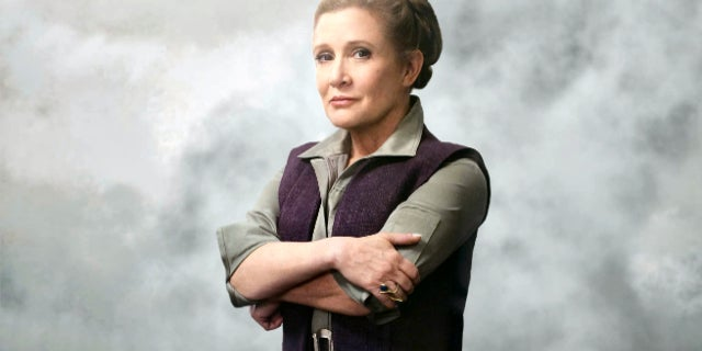 Star Wars Last Jedi Leia Death Carrie Fisher