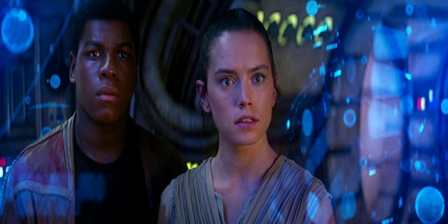 Star Wars Rey and Finn