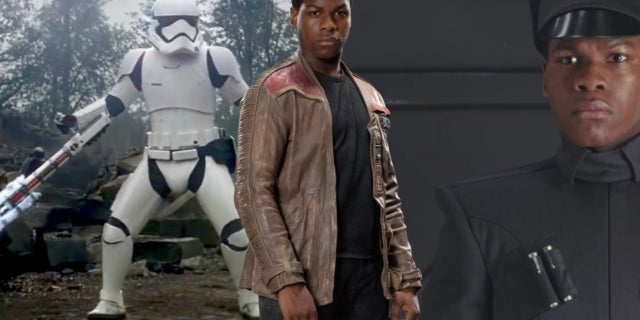 Star Wars The Last Jedi Finn First Order