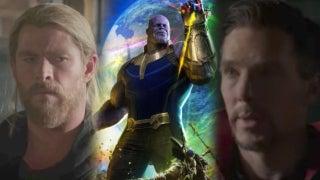Strange Thor Avengers