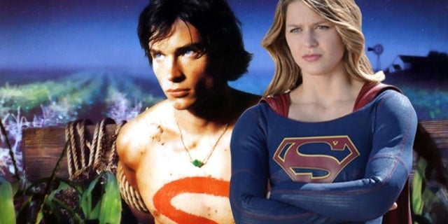 supergirl tom welling smallville superman