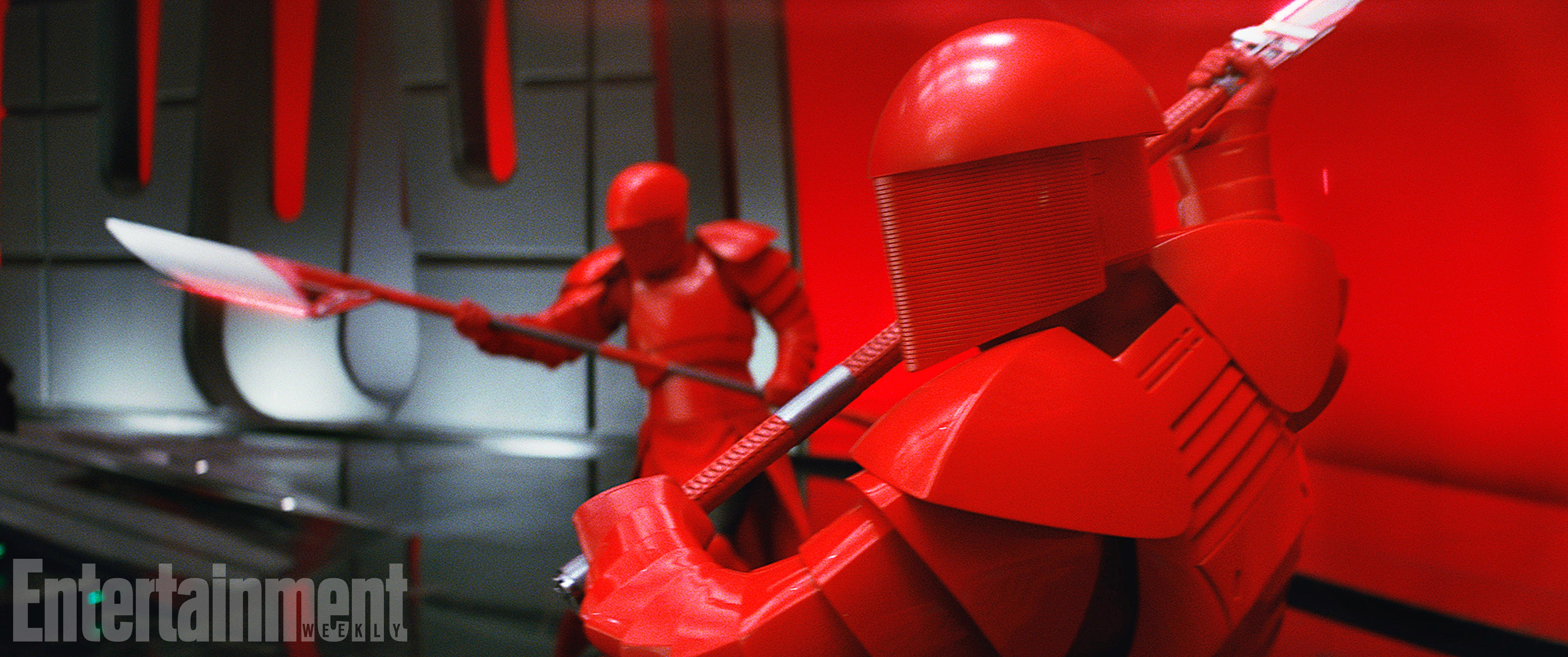 the last jedi praetorian guard snoke