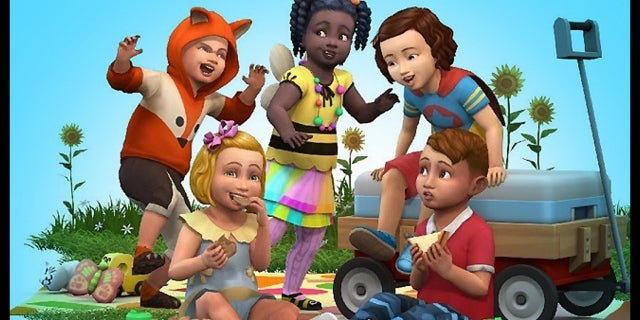 The Sims 4 Toddler Stuff DLC Pack Trailer WWG screen capture