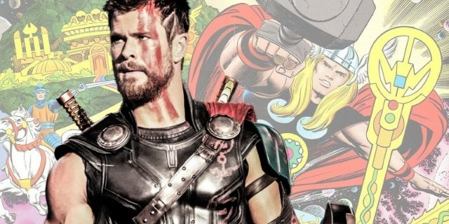 Thor Ragnarok Jack Kirby