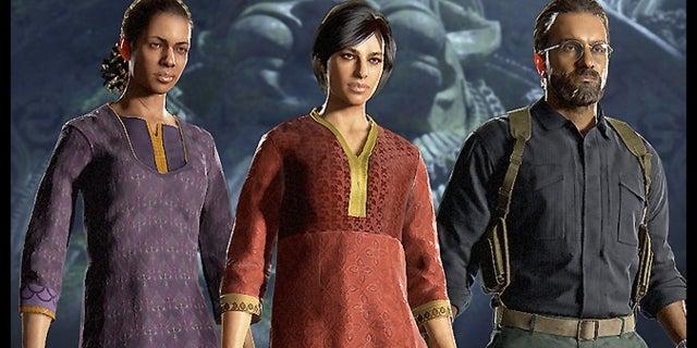 Uncharted 4 Multiplayer Survival Arena Update WWG screen capture