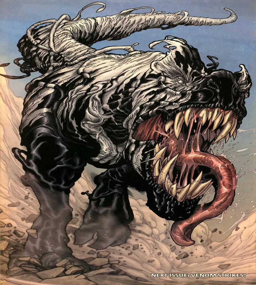 Venom dinosaur