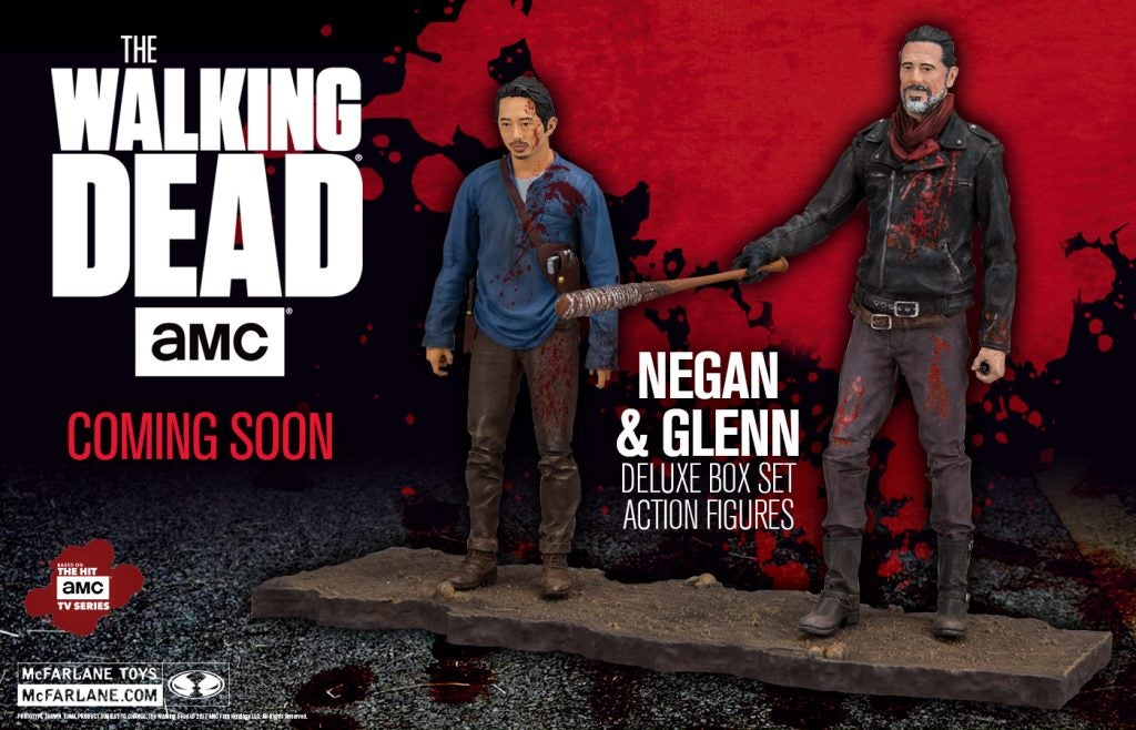 Walking-Dead-5-Inch-Bloody-Negan-and-Glenn-Set