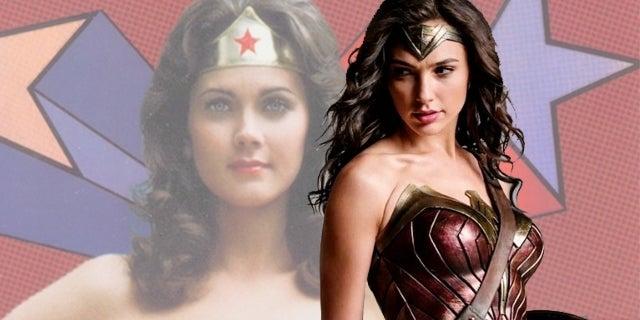 Wonder Woman Lynda Carter Easter Egg