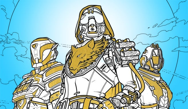 Destiny Is The Latest Video Game Series To Latch Onto Adult Coloring Book Craze