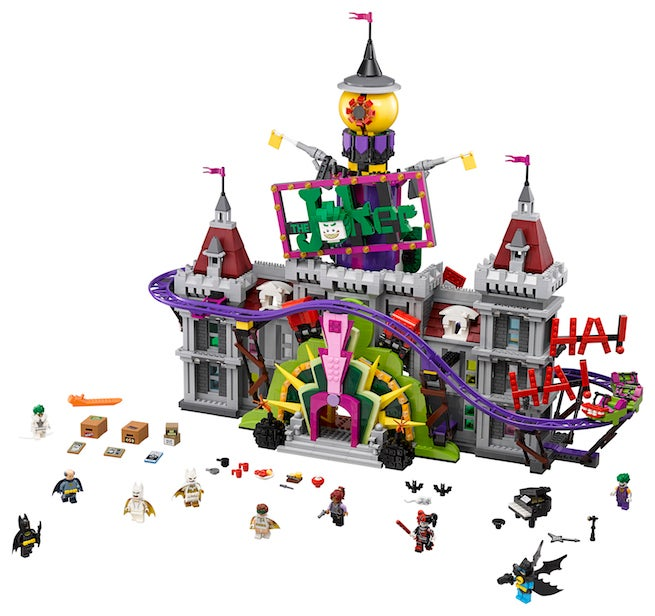 LEGO Debuts Joker Manor Set From LEGO Batman Movie