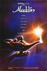 Disney's Aladdin movie poster image