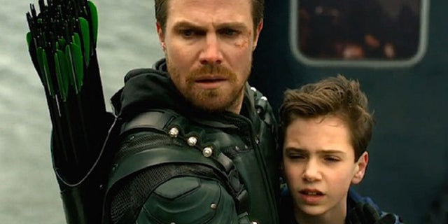 arrow season 6 oliver fatherhood