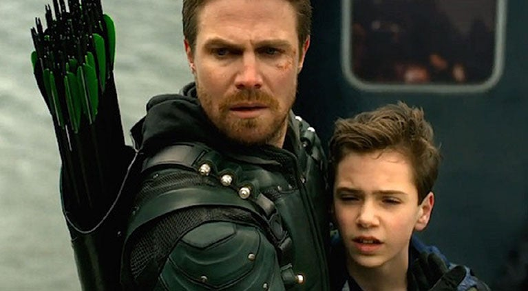 arrow season 6 oliver fatherhood