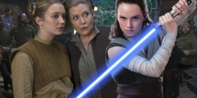 Billie Lourd Rey Star Wars