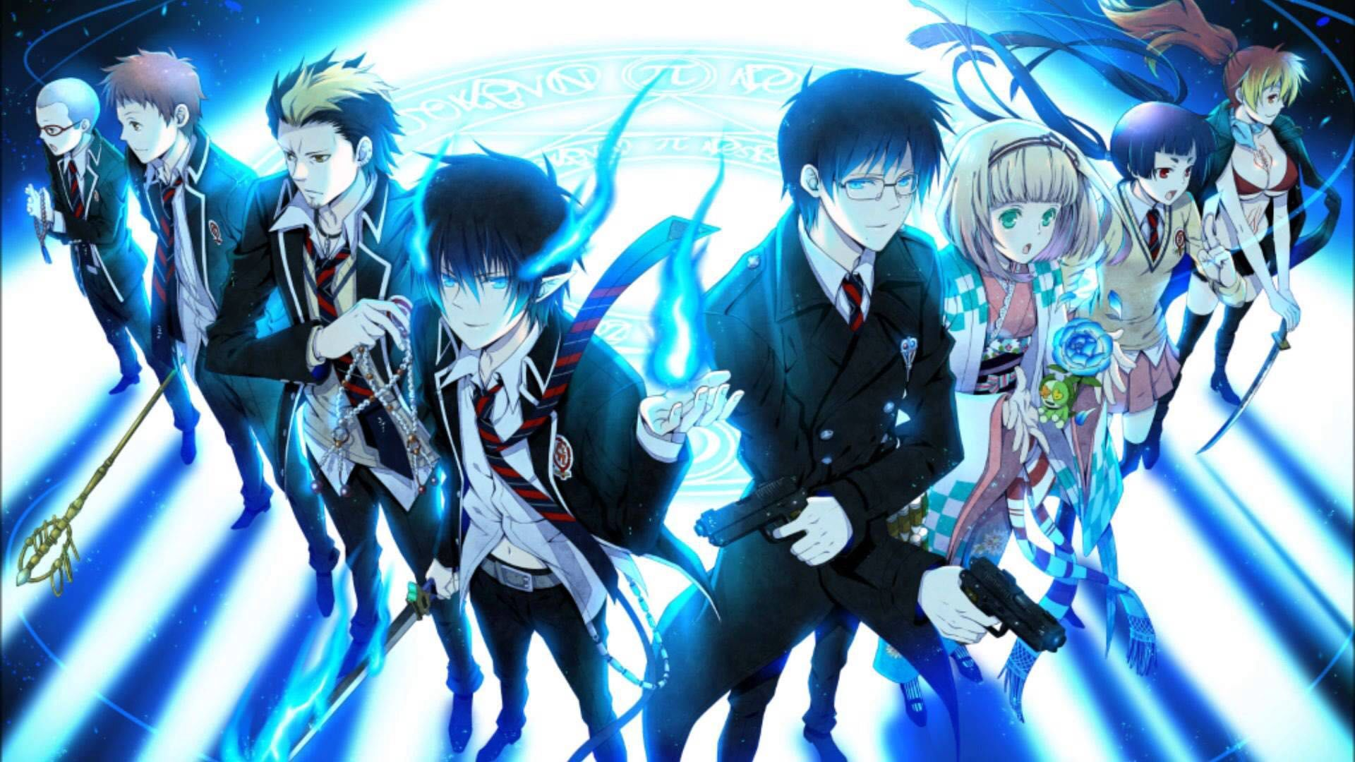Image result for blue exorcist