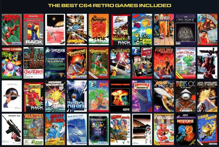 Commodore 64 Mini Is On The Way With 64 Games Included