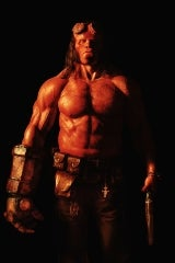 Hellboy movie poster image