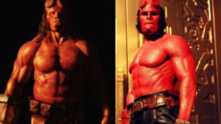 David Harbour Hellboy vs Ron Pearlman Hellboy
