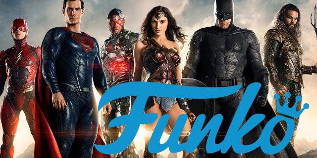 dceu justice league funko