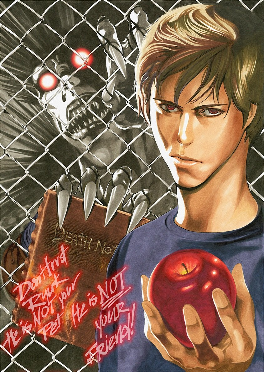 Death Note Netflix Poster By  Takeshi Obata