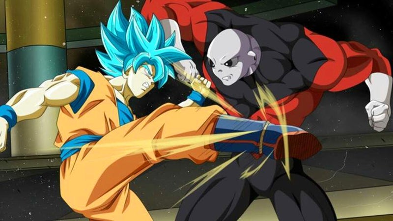Dragon Ball Super 109 Goku SSB vs Jiren