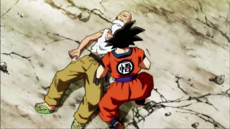 Dragon Ball Super Master Roshi Death