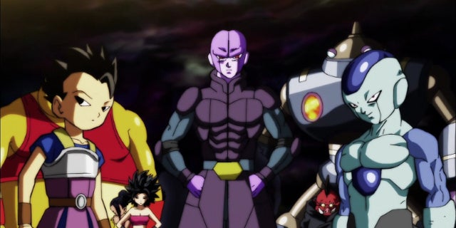 Dragon Ball Super Universe 6 Fighters Frost Freeza Fusion