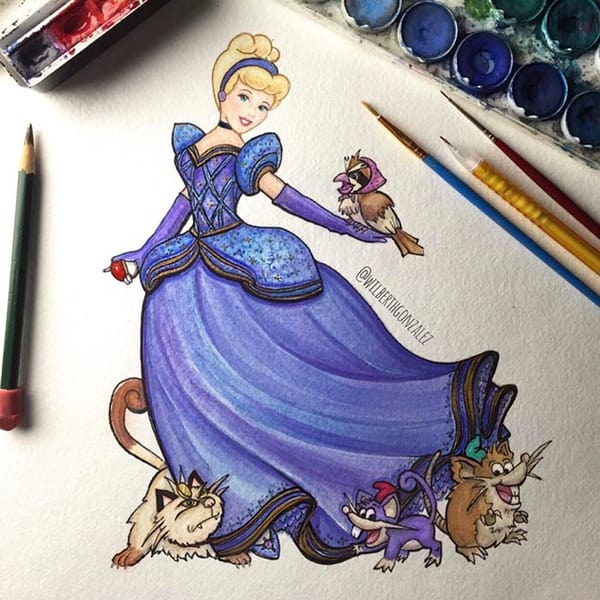 Pokemon And Disney Companions Collide With Epic Fan Art