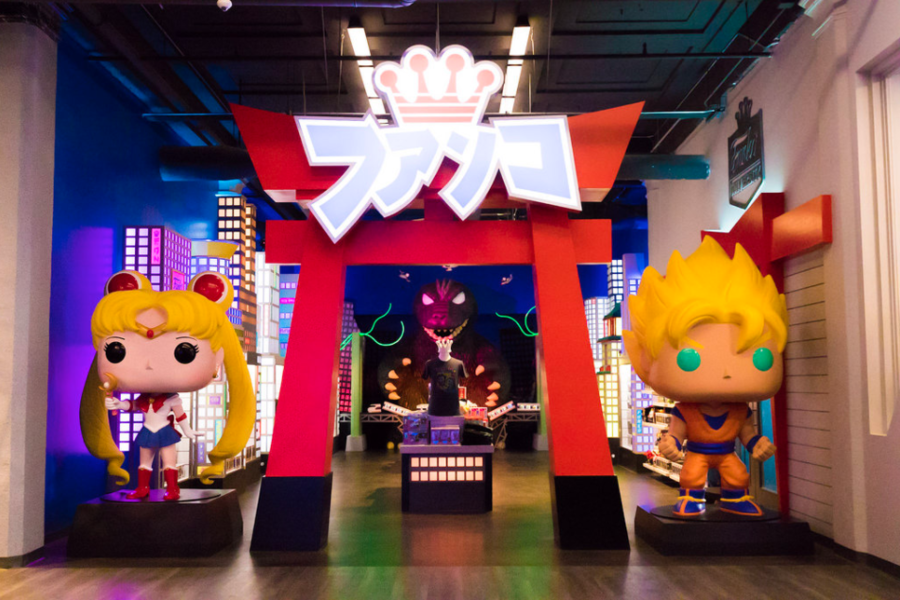 The Anime Corner Of Funko S New Hq Is The Stuff Of Dreams