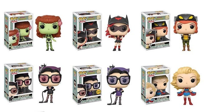 Funko Unveils A Second Wave Of Dc Bombshells Pop Figures