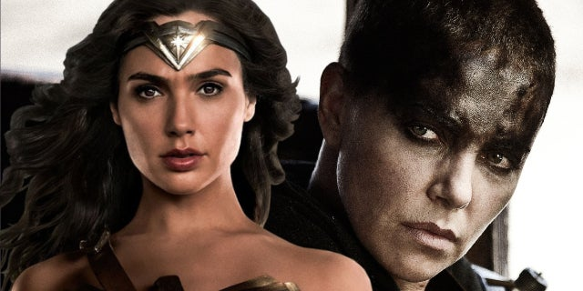 gal gadot wonder woman mad max charlize theron