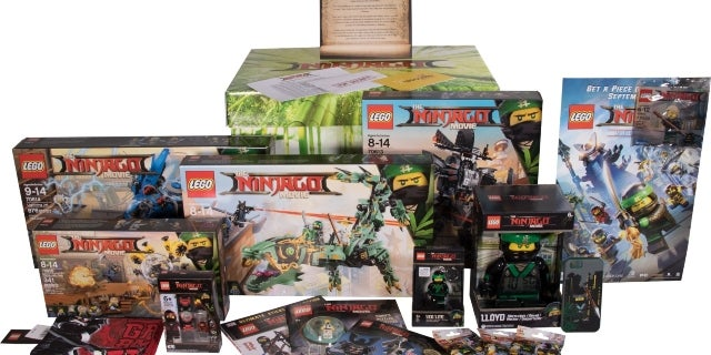 Here's How You Can Win A 'The LEGO NINJAGO Movie' Prize Pack