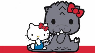 godzilla hello kitty