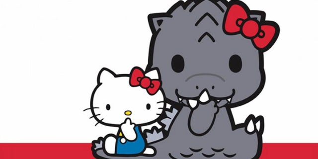 godzilla hello kitty