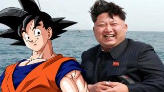 Goku and Kim Jong Un