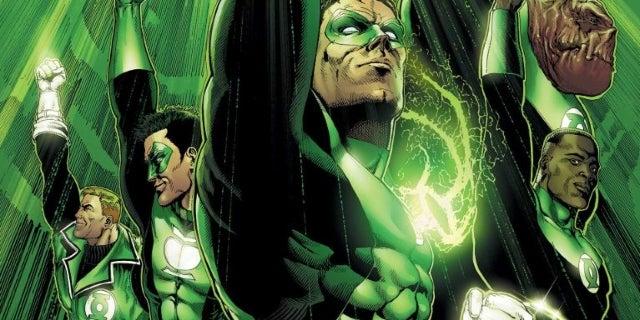 Green Lantern Justice League Movie