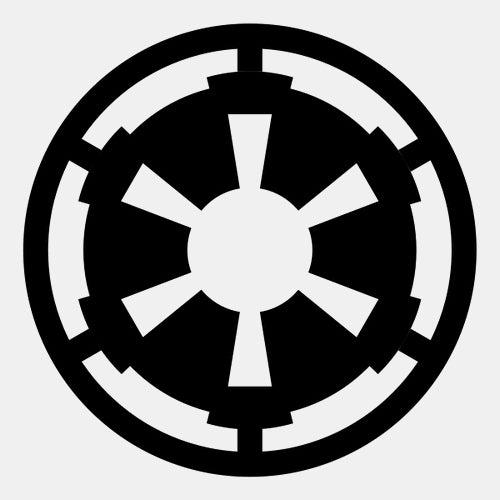 han solo galactic empire logo