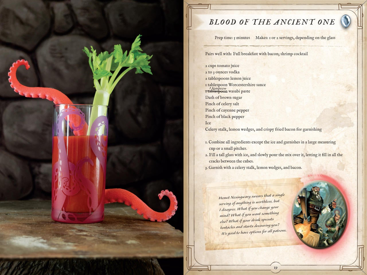 hearthstone-inspired recipes now available