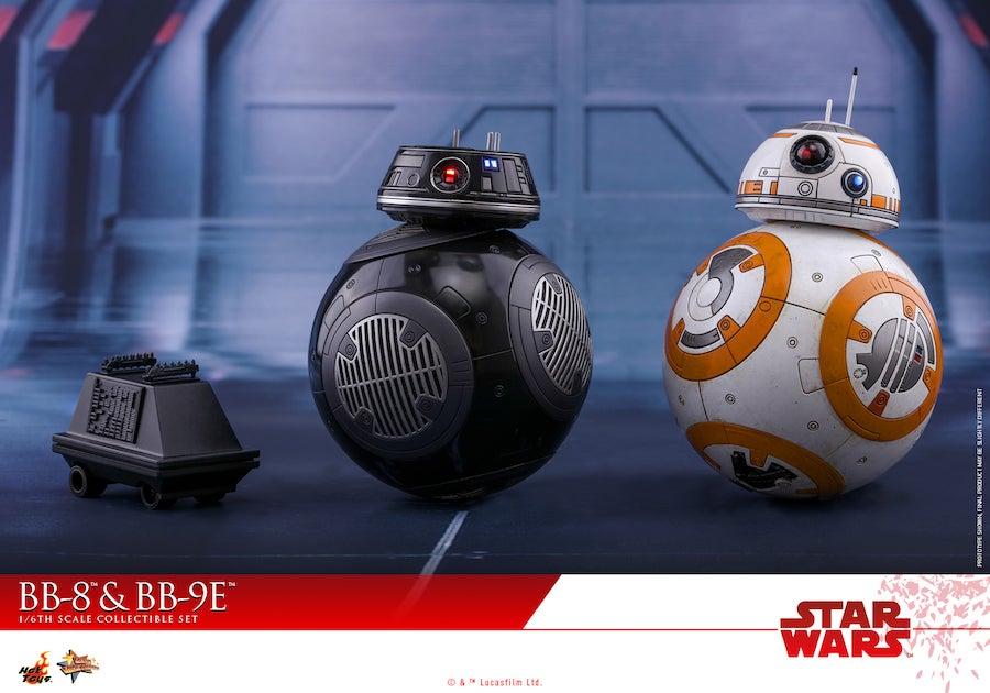 Hot Toys - SWTLJ - BB-8 & BB-9E collectible set_PR2