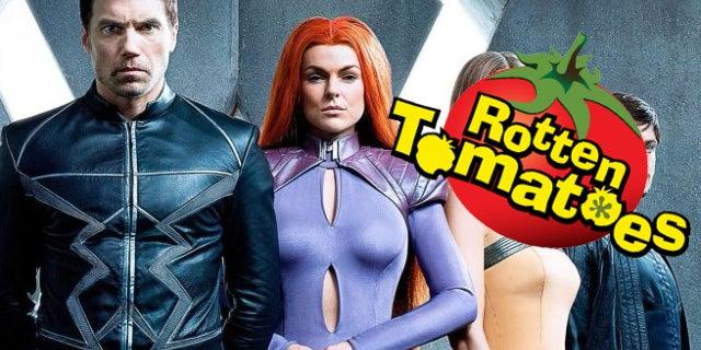 inhumans rotten tomatoes