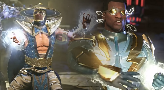 Screw Raiden, I'm playing as Black Lightning in Injustice 2