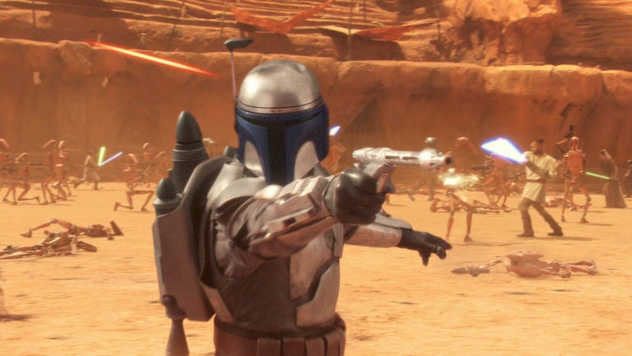 jango fett temeura morrison attack of the clones