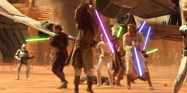 Jedi Knights vs Medieval Knights