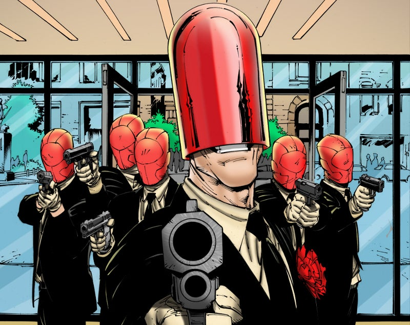 Joker Origin Movie Red Hood Gang