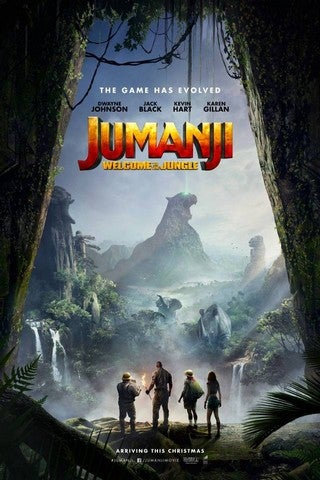 Jumanji: Welcome to the Jungle movie poster image
