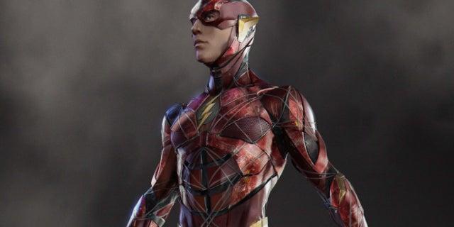 Justice League Flash Costume Concept Art