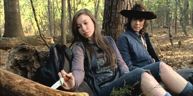 Katelyn Nacon Talks The Walking Dead screen capture