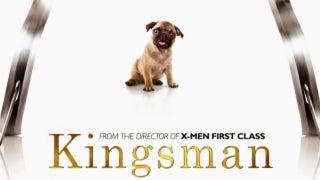 kingsman dog pug