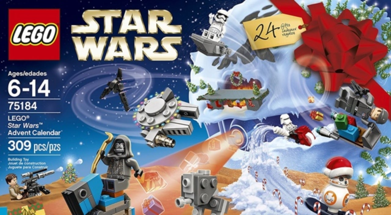 The 2017 lego advent calendar lineup launches with a new star wars set voltagebd Choice Image