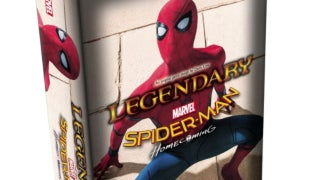 marvel legendary deck building game spider man homecoming